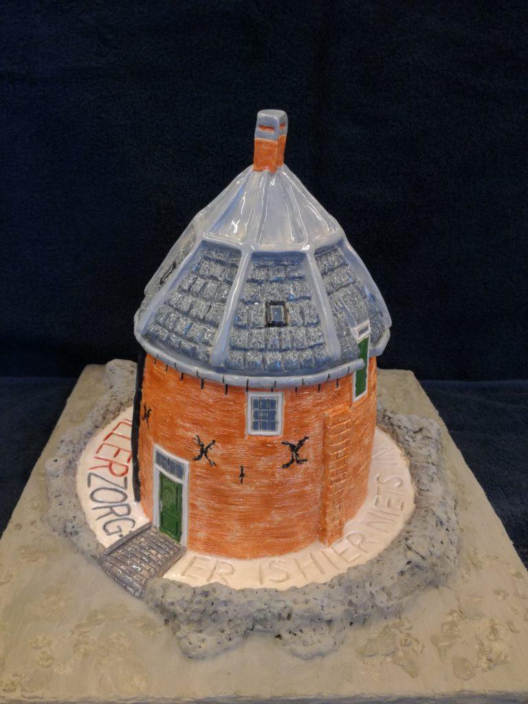 Kasteel Toren Woerden - Keramiek - Verkocht